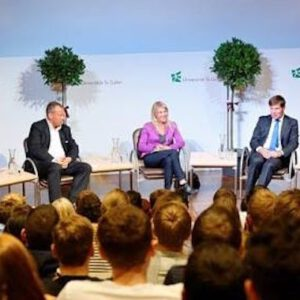Diskussion an der Hochschule St. Gallen, 18. November 2013 - http://www.stuermerfoto.ch