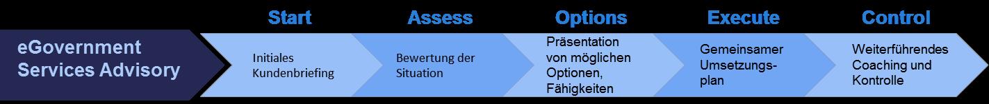 E-Government Prozeßdiagramm